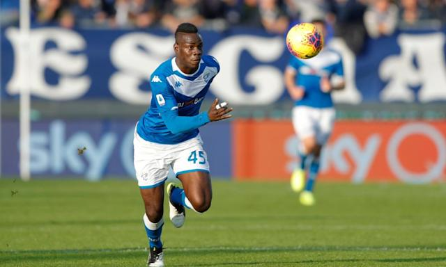Mario Balotelli playing for Brescia (Credit: Shutterstock)
