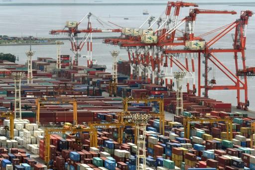 Japan's trade surplus at 113.6 billion yen in August as exports surge