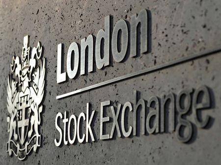 FILE PHOTO: The London Stock Exchange is seen in the City of London