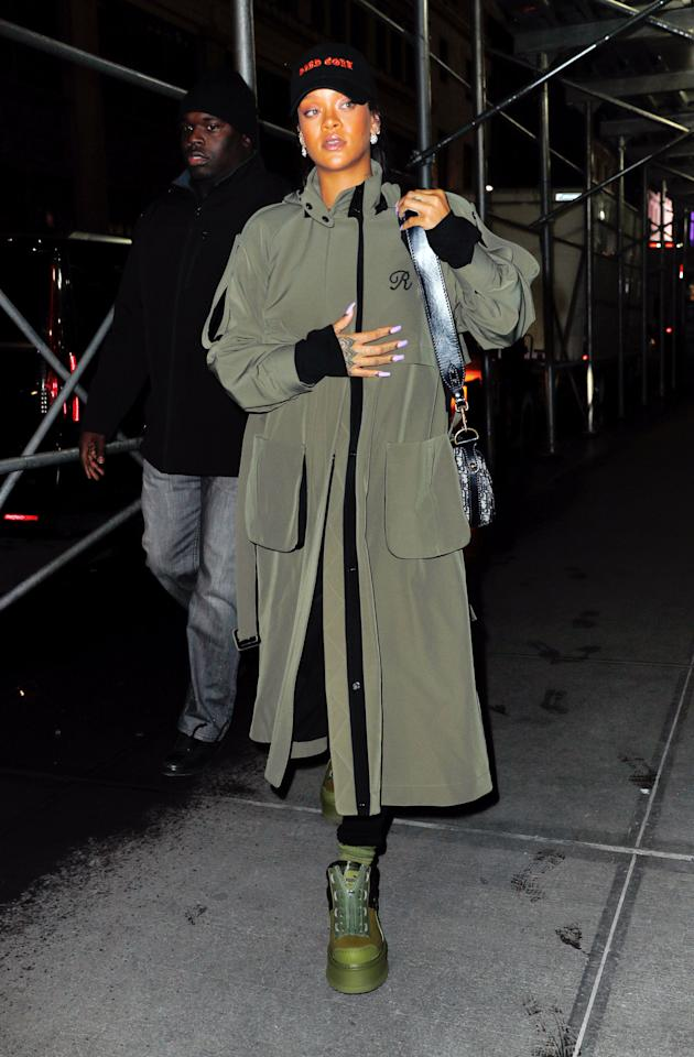 <p>When it comes to fashion (or anything, really), RiRi is no shrinking violet. On any given day, she's introducing a daring new trend or styling trick and making it look effortless. Here, find every single time the Barbadian bombshell left us awestruck with her head-to-toe look.</p>