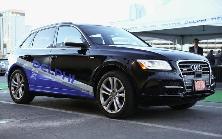 Delphi self-driving Audi SQ5