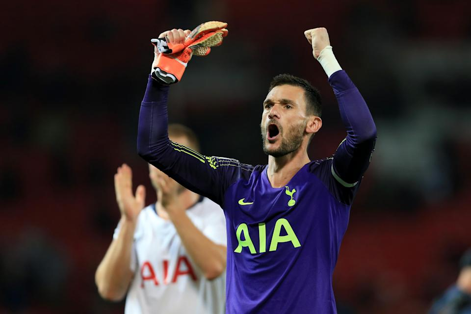 Hugo Lloris captained Spurs at Old Trafford days after the incident