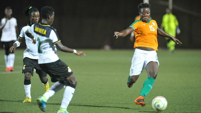 Wafu Women's Cup: Ghana 0 Cote d'Ivoire 0 - Holders and hosts share spoils
