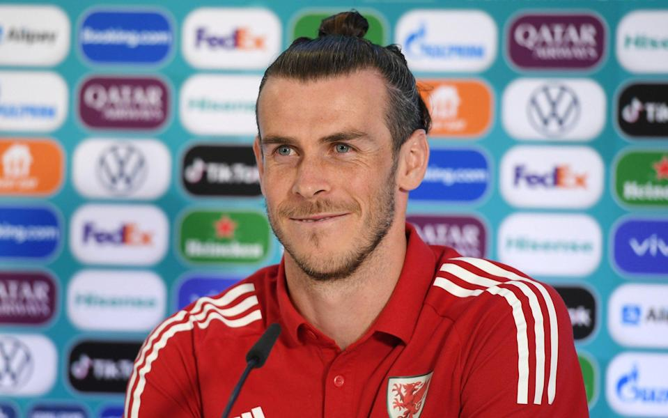 Wales captain Gareth Bale -Euro 2020: Build-up to Wales' crunch match against Italy in Rome - live news - REUTERS