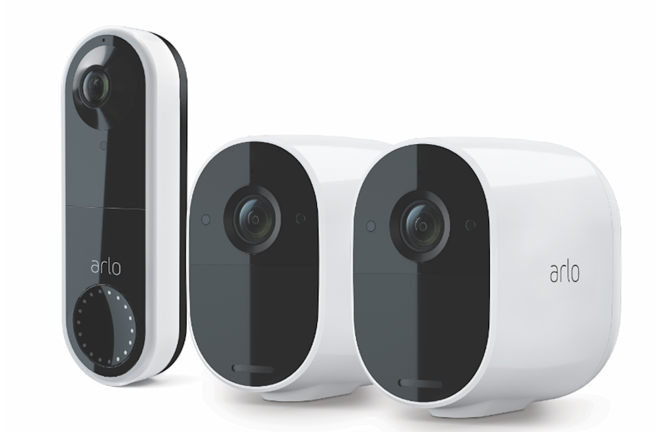 Arlo Essential 2 Pack with Video Doorbell