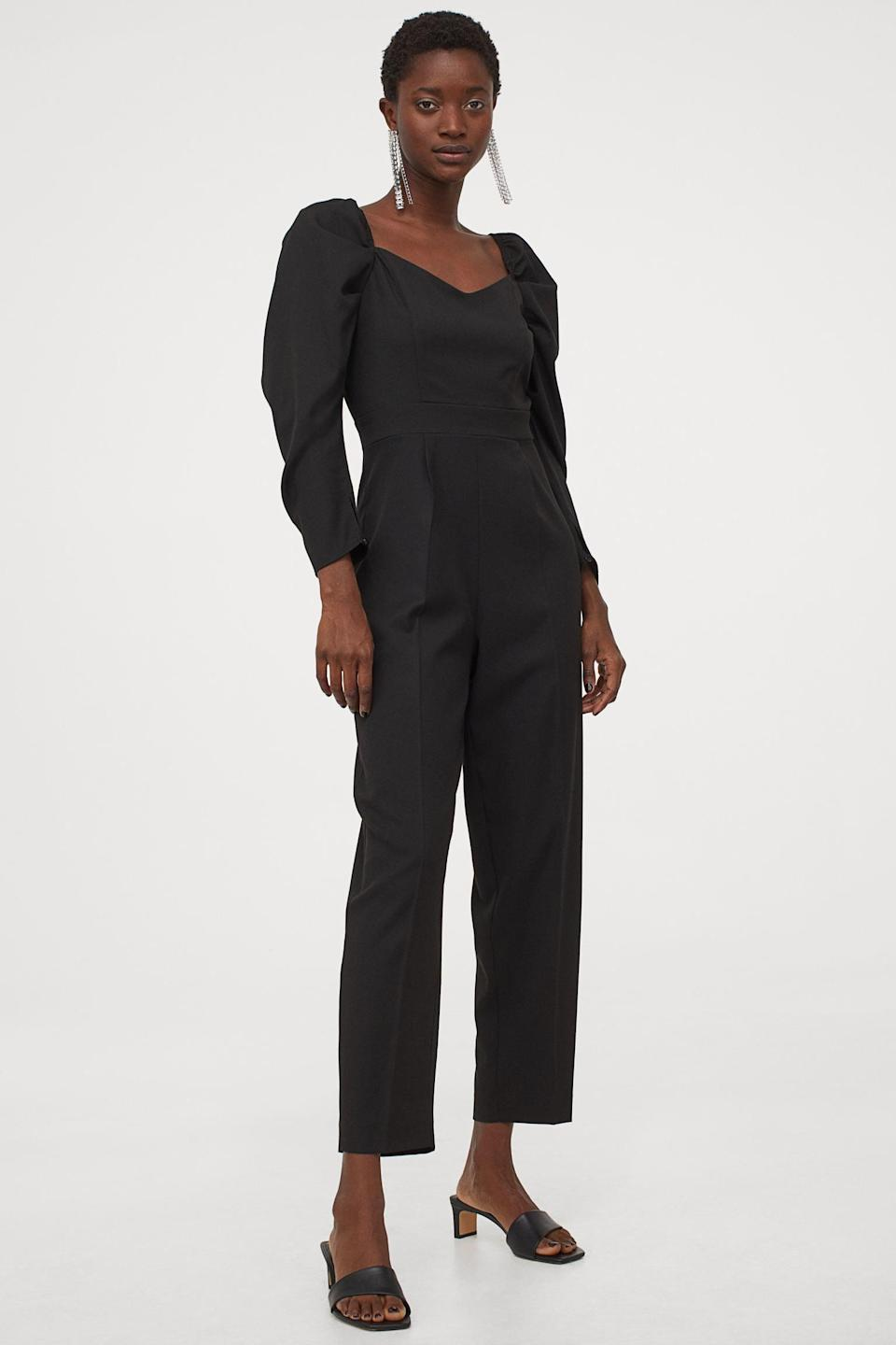 <p>Who needs a dress when you have this <span>H&amp;M Sweetheart Neckline Jumpsuit</span> ($20, originally $50)? Wear it to next Zoom party.</p>