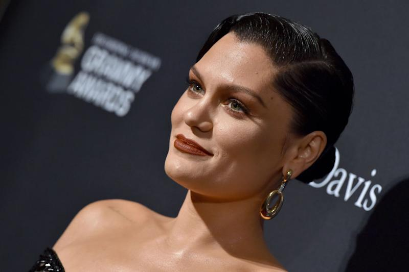 Jessie J has vowed she will be a mother one day, pictured here at the pre-Grammy gala in January 2020 (Getty Images)