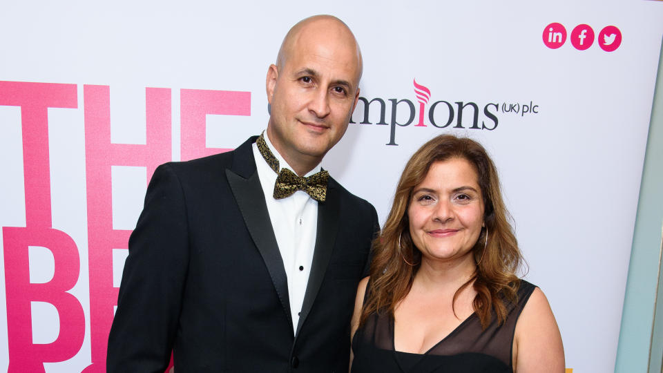 Nina Wadia says she and husband Raiomond Mirza still have an exciting sex life after more than two decades of marriage. (Joe Maher/Getty Images)