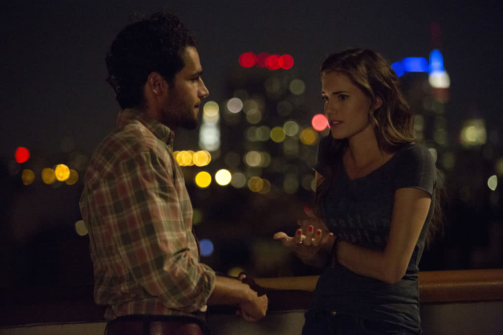 """Chris Abbott and Allison Williams in the """"Girls"""" Season 2 episode, """"It's a Shame About Ray."""""""