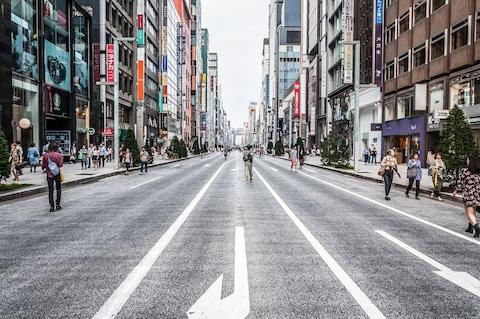 Combine hectic Tokyo with a cycling tour