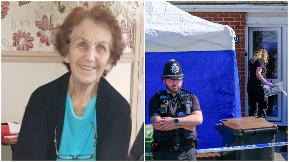 Mildred Whitmore was found dead in her home on Tuesday. (SWNS)