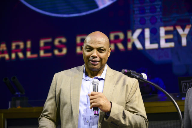 Charles Barkley doesn't approve of NBA games on TV. (Lisa Lake/Getty Images for Julius Erving Golf Classic (a PGD Global Production))