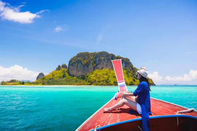 Bon Voyage, it's time to get traveling! (Photo: Getty Images)