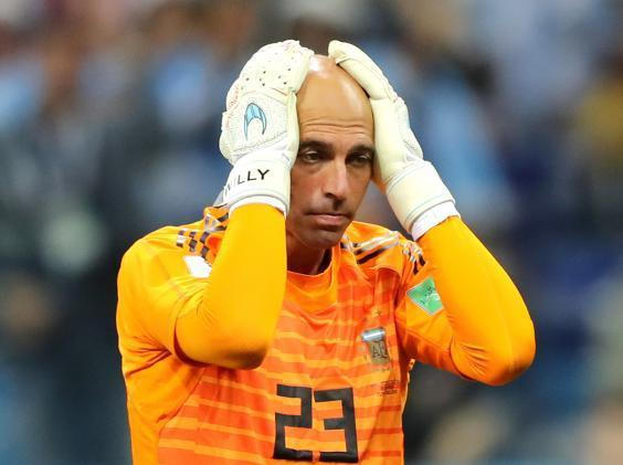 Argentina to drop Willy Caballero as players force switch to 4-3-3 in attempt to save World Cup campaign