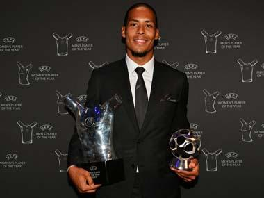 Liverpool's Virgil Van dijk, Lyon's Lucy Bronze win UEFA Player of the Year awards