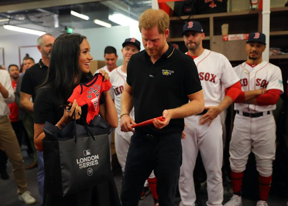 meghan markle red sox