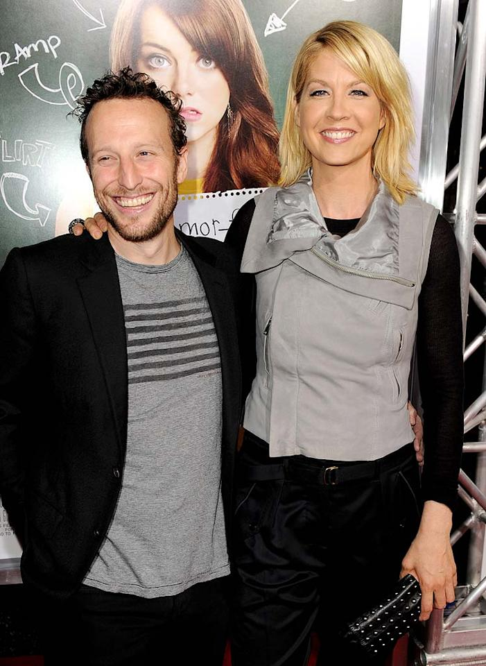 "Jenna Elfman and her husband Bodhi Elfman expanded their family on March 2 when their son, Easton Quinn, arrived. Big brother Story Elias is 3. Kevin Winter/<a href=""http://www.gettyimages.com/"" target=""new"">GettyImages.com</a> - September 13, 2010"