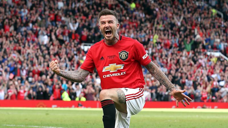Announce Beckham Man United Fans Nostalgic As Becks