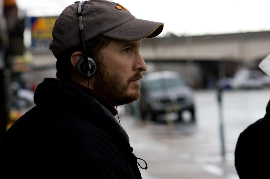 "Director <a href=""http://movies.yahoo.com/movie/contributor/1800023984"">Darren Aronofsky</a> on the set of Fox Searchlight's <a href=""http://movies.yahoo.com/movie/1809994789/info"">The Wrestler</a> - 2008"