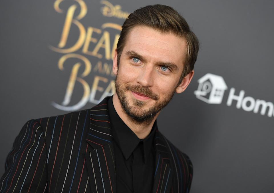 Dan Stevens attends the New York special screening of Disney's live-action adaptation 'Beauty and the Beast' on March 13, 2017. (Credit: Angela Weiss/AFP via Getty Images)