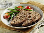 "<p>Four ingredients are all you need to make this delicious, <a href=""https://www.thedailymeal.com/cook/8-easy-meatloaf-recipes-slideshow?referrer=yahoo&category=beauty_food&include_utm=1&utm_medium=referral&utm_source=yahoo&utm_campaign=feed"" rel=""nofollow noopener"" target=""_blank"" data-ylk=""slk:easy meatloaf recipe"" class=""link rapid-noclick-resp"">easy meatloaf recipe</a>. The prepared olive tapenade adds tons of briny flavor, allowing you to skip dumping dozens of sauces and spices into this staple entree. Meatloaf takes a while to cook but it's all hands-off after the few minutes it takes to mix the few ingredients together.</p> <p><a href=""https://www.thedailymeal.com/recipes/olive-tapenade-meatloaf-recipe?referrer=yahoo&category=beauty_food&include_utm=1&utm_medium=referral&utm_source=yahoo&utm_campaign=feed"" rel=""nofollow noopener"" target=""_blank"" data-ylk=""slk:For the Olive Tapenade Meatloaf recipe, click here"" class=""link rapid-noclick-resp"">For the Olive Tapenade Meatloaf recipe, click here</a>.</p>"