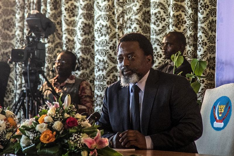 Congo's Kabila will not stand for election in December