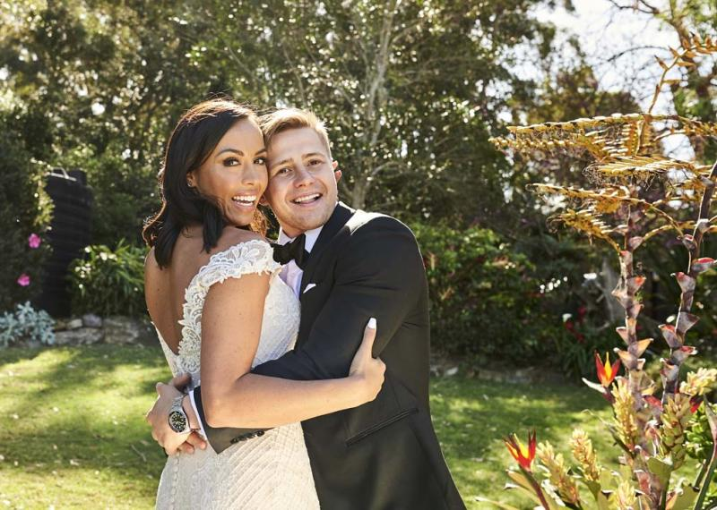 Natasha and Mikey on Married at first Sight wedding day 2020 official pictures