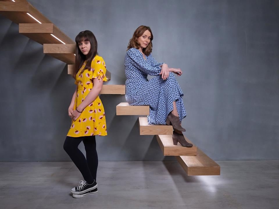Charlotte (Isabella Pappas) and Alice (Keeley Hawes) are the mother/daughter duo at the show's heartITV