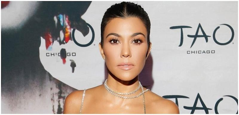 Kourtney Kardashian attends the TAO Chicago Grand Opening Celebration at TAO Chicago