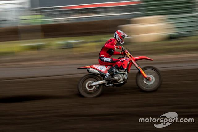 "Mitch Evans, HRC Honda <span class=""copyright"">Team HRC / Shot by Bavo</span>"