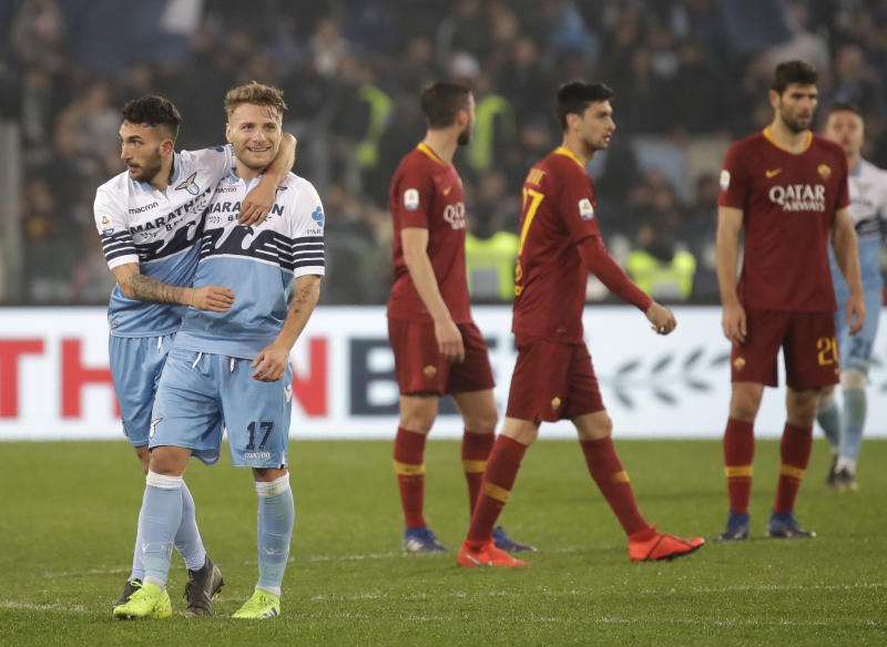 Lazio 3 Roma 0: Biancocelesti dish out derby punishment