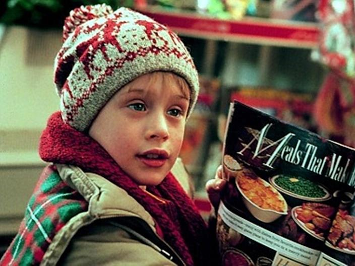 "Macaulay Culkin in ""Home Alone."""