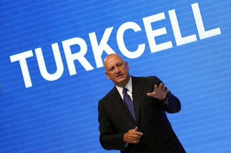Turkcell Chief Executive Sureyya Ciliv speaks during a news conference to present the T40 smart phone, the company's new product, in Istanbul