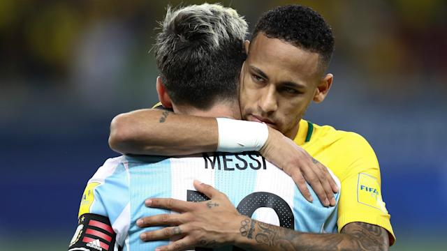 The Argentine star is impressed with the Selecao, according to his Barcelona team-mate