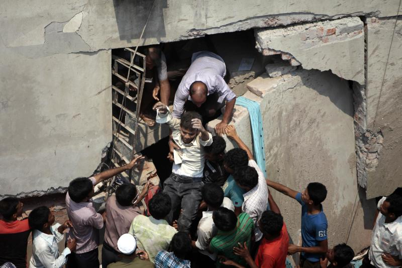 149 die, more cry for help at Bangladesh collapse