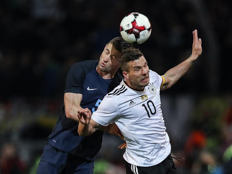 The retiring German legend thinks England have a bright future: Bongarts/Getty