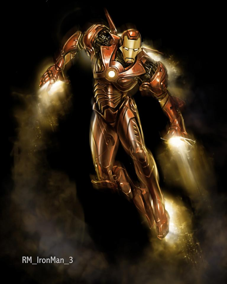 """Design art from Paramount Pictures' <a href=""""http://movies.yahoo.com/movie/1808411893/info"""">Iron Man</a> - 2008"""
