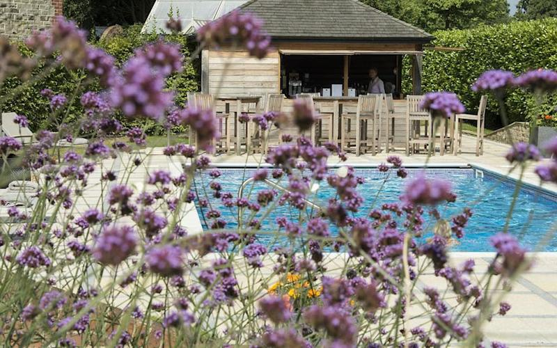 Park House Hotel & Spa, West Sussex - one of Britain's best hotels with outdoor pools