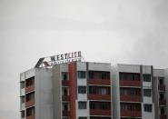 A view of Westlite Woodlands dormitory in Singapore