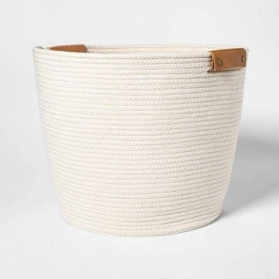 """<p><strong>Threshold</strong></p><p>target.com</p><p><strong>$30.00</strong></p><p><a href=""""https://www.target.com/p/decorative-coiled-rope-floor-basket-white-threshold-8482/-/A-53192988"""" rel=""""nofollow noopener"""" target=""""_blank"""" data-ylk=""""slk:Shop Now"""" class=""""link rapid-noclick-resp"""">Shop Now</a></p><p>You can't go wrong stashing these coiled rope baskets in every room of the house, using them as catch-alls if they're not housing stuffies. Kids can use the built-in handles to drag them to wherever they want to play.</p>"""