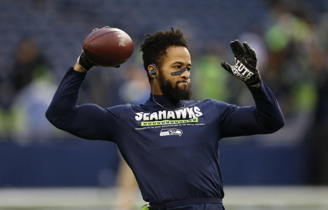 Earl Thomas isn't happy with his contract status in Seattle. (AP)