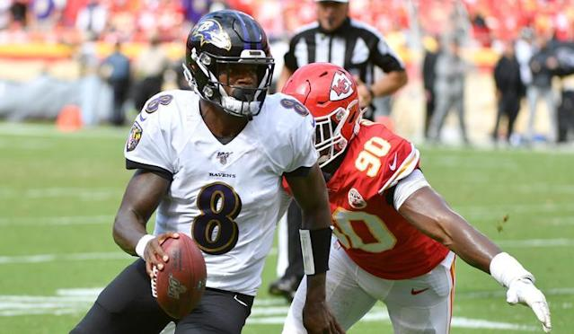 Chiefs remain undefeated with 33-28 win over Baltimore