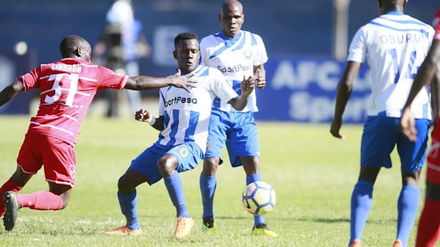 The two sides fought to share the points as they scored all their goals in an epic first half in Mombasa