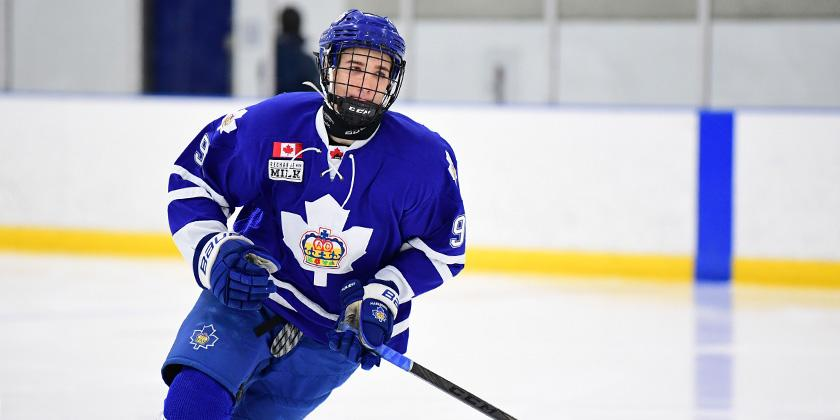 Multiple teams have reportedly placed Logan Mailloux on their 'Do Not Draft' list after he was charged for sharing a sexual image without consent. (Photo via neutralzone.net)