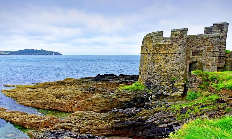 Pendennis Head fortress