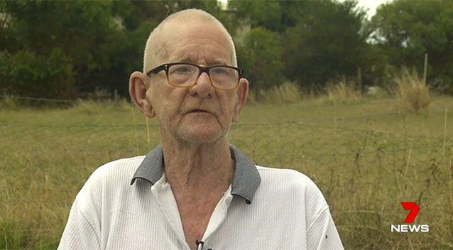 Ray Johnstone was looking for a mate to go fishing with. Source: 7 News