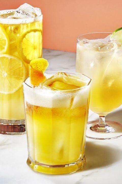 """<p>Try a beer cocktail to whet your whistle this fall. Tempt your taste buds with one of these refreshing options: lemon-gin, honey-bourbon or margarita-style.<br><br><em><a href=""""https://www.goodhousekeeping.com/food-recipes/easy/a28408731/beer-cocktails-recipe/"""" rel=""""nofollow noopener"""" target=""""_blank"""" data-ylk=""""slk:Get the recipe for Beer Cocktails »"""" class=""""link rapid-noclick-resp"""">Get the recipe for Beer Cocktails »</a></em></p><p><strong>RELATED:</strong> <a href=""""https://www.goodhousekeeping.com/food-products/g33010627/best-beer-brands/"""" rel=""""nofollow noopener"""" target=""""_blank"""" data-ylk=""""slk:15 Best Beers to Buy and Drink All Season Long"""" class=""""link rapid-noclick-resp"""">15 Best Beers to Buy and Drink All Season Long</a><br></p>"""