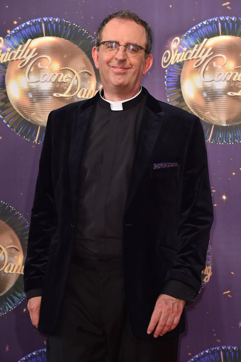 Reverend Richard Coles at the launch of Strictly Come Dancing 2017. (Photo: Matt Crossick - PA Images via Getty Images)