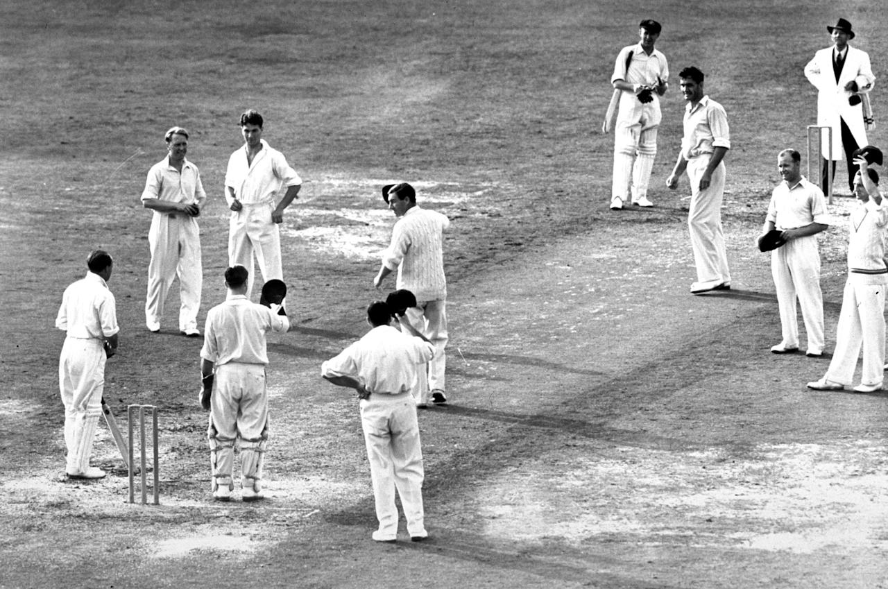 Don Bradman last innings 14th August 1948 at The Oval