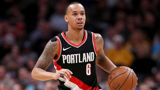 Napier averaged 8.7 points and 2.3 rebounds in 72 games for the Blazers last season.